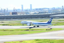 乗り物大好きライター・ヨッシーさんが、羽田空港で撮影した全日空 787-9の航空フォト(飛行機 写真・画像)