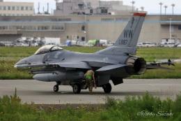 Tobby Suzukiさんが、千歳基地で撮影したアメリカ空軍 F-16CM-50-CF Fighting Falconの航空フォト(飛行機 写真・画像)