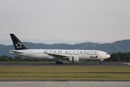 344さんが、広島空港で撮影した全日空 777-281の航空フォト(飛行機 写真・画像)