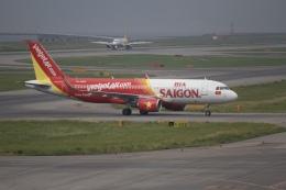 344さんが、関西国際空港で撮影したベトジェットエア A320-214の航空フォト(飛行機 写真・画像)