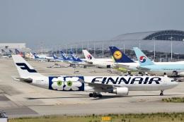 344さんが、関西国際空港で撮影したフィンエアー A330-302Xの航空フォト(飛行機 写真・画像)