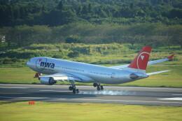モモさんが、成田国際空港で撮影したノースウエスト航空 A330-223の航空フォト(飛行機 写真・画像)