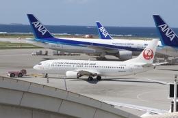 344さんが、那覇空港で撮影した日本トランスオーシャン航空 737-446の航空フォト(飛行機 写真・画像)