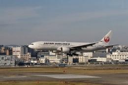 344さんが、福岡空港で撮影した日本航空 777-246の航空フォト(飛行機 写真・画像)