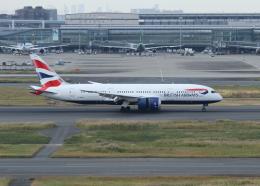 銀苺さんが、羽田空港で撮影したブリティッシュ・エアウェイズ 787-8 Dreamlinerの航空フォト(飛行機 写真・画像)