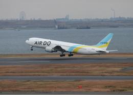 銀苺さんが、羽田空港で撮影したAIR DO 767-381/ERの航空フォト(飛行機 写真・画像)