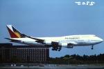 tassさんが、成田国際空港で撮影したフィリピン航空 747-4F6の航空フォト(飛行機 写真・画像)