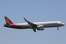 OS52さんが、成田国際空港で撮影したアシアナ航空 A321-231の航空フォト(飛行機 写真・画像)