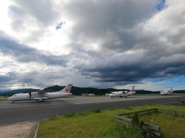 おんちゃ7さんが、但馬飛行場で撮影した日本エアコミューター ATR-42-600の航空フォト(飛行機 写真・画像)