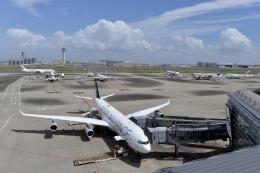 flytaka78さんが、羽田空港で撮影したルフトハンザドイツ航空 A340-313Xの航空フォト(飛行機 写真・画像)