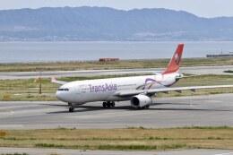 344さんが、関西国際空港で撮影したトランスアジア航空 A330-343Xの航空フォト(飛行機 写真・画像)