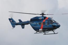 木人さんが、茨城空港で撮影した茨城県警察 BK117C-1の航空フォト(飛行機 写真・画像)