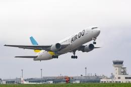 Ariesさんが、函館空港で撮影したAIR DO 767-33A/ERの航空フォト(飛行機 写真・画像)