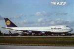 tassさんが、マイアミ国際空港で撮影したルフトハンザドイツ航空 747-230BMの航空フォト(飛行機 写真・画像)