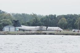 thomasYVRさんが、ビリー・ビショップ・トロント・シティー空港で撮影したポーター・エアラインズ DHC-8-402Q Dash 8の航空フォト(飛行機 写真・画像)