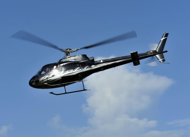 パンサーRP21さんが、東京ヘリポートで撮影したグラフィック AS350B Ecureuilの航空フォト(飛行機 写真・画像)
