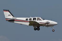 meskinさんが、仙台空港で撮影した航空大学校 Baron G58の航空フォト(飛行機 写真・画像)