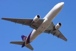 Hiro-hiroさんが、成田国際空港で撮影したタイ国際航空 777-2D7の航空フォト(飛行機 写真・画像)