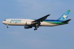 TIA spotterさんが、スワンナプーム国際空港で撮影したイカル 767-3Q8/ERの航空フォト(飛行機 写真・画像)