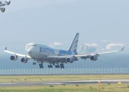まひろさんが、中部国際空港で撮影したナショナル・エア・カーゴ 747-428(BCF)の航空フォト(飛行機 写真・画像)