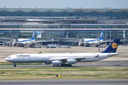 シグナス021さんが、羽田空港で撮影したルフトハンザドイツ航空 A340-642の航空フォト(飛行機 写真・画像)
