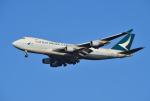 mojioさんが、成田国際空港で撮影したキャセイパシフィック航空 747-467F/ER/SCDの航空フォト(飛行機 写真・画像)