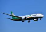 じーく。さんが、成田国際空港で撮影したエバー航空 787-9の航空フォト(飛行機 写真・画像)