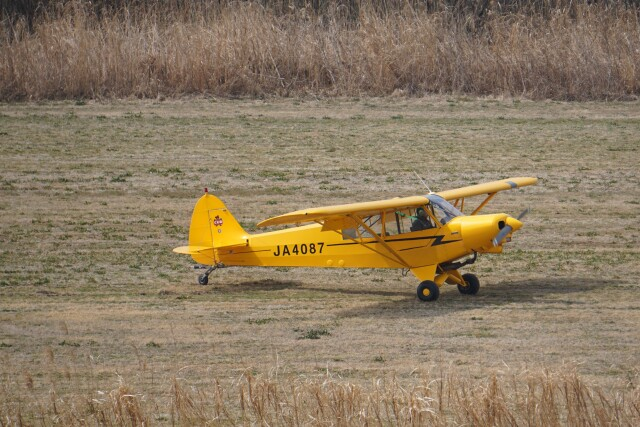 *mika*さんが、関宿滑空場で撮影した日本学生航空連盟 PA-18-150 Super Cubの航空フォト(飛行機 写真・画像)
