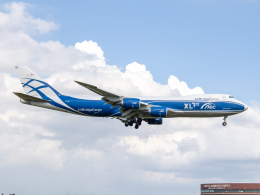 Mame @ TYOさんが、成田国際空港で撮影したエアブリッジ・カーゴ・エアラインズ 747-83QFの航空フォト(飛行機 写真・画像)