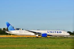 チョロ太さんが、成田国際空港で撮影したユナイテッド航空 787-10の航空フォト(飛行機 写真・画像)