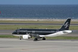 hachiさんが、中部国際空港で撮影したスターフライヤー A320-214の航空フォト(飛行機 写真・画像)