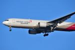 mojioさんが、成田国際空港で撮影したアシアナ航空 767-38EF/ERの航空フォト(飛行機 写真・画像)