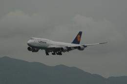 hachiさんが、香港国際空港で撮影したルフトハンザドイツ航空 747-830の航空フォト(飛行機 写真・画像)