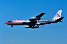 パール大山さんが、ロサンゼルス国際空港で撮影したアメリカン航空 707-123Bの航空フォト(飛行機 写真・画像)