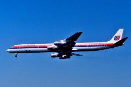 パール大山さんが、ロサンゼルス国際空港で撮影したユナイテッド航空 DC-8-61の航空フォト(飛行機 写真・画像)