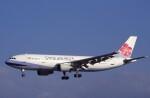 kumagorouさんが、仙台空港で撮影したチャイナエアライン A300B4-622Rの航空フォト(飛行機 写真・画像)