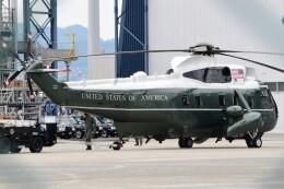 ほてるやんきーさんが、伊丹空港で撮影したアメリカ海兵隊 VH-3D Sea King (S-61B)の航空フォト(飛行機 写真・画像)