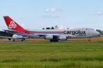 Cozy Gotoさんが、成田国際空港で撮影したカーゴルクス・イタリア 747-4R7F/SCDの航空フォト(飛行機 写真・画像)