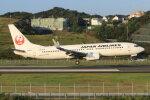 korosukeさんが、南紀白浜空港で撮影した日本航空 737-846の航空フォト(飛行機 写真・画像)