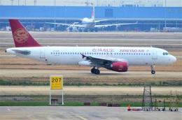 amagoさんが、上海浦東国際空港で撮影した吉祥航空 A320-214の航空フォト(飛行機 写真・画像)