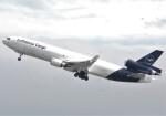 takikoki50000さんが、関西国際空港で撮影したルフトハンザ・カーゴ MD-11Fの航空フォト(飛行機 写真・画像)