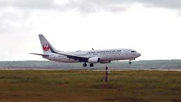 FlyingMonkeyさんが、下地島空港で撮影した日本トランスオーシャン航空 737-8Q3の航空フォト(飛行機 写真・画像)
