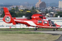 ほてるやんきーさんが、名古屋飛行場で撮影した名古屋市消防航空隊 AS365N3 Dauphin 2の航空フォト(飛行機 写真・画像)