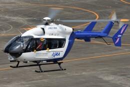 航空フォト:JA21RH 宇宙航空研究開発機構 BK117
