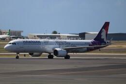 SIさんが、ダニエル・K・イノウエ国際空港で撮影したハワイアン航空 A321-271Nの航空フォト(飛行機 写真・画像)
