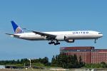 Cozy Gotoさんが、成田国際空港で撮影したユナイテッド航空 777-322/ERの航空フォト(飛行機 写真・画像)