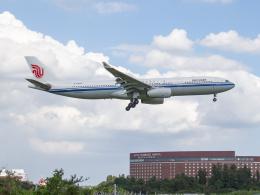 Mame @ TYOさんが、成田国際空港で撮影した中国国際航空 A330-343Xの航空フォト(飛行機 写真・画像)