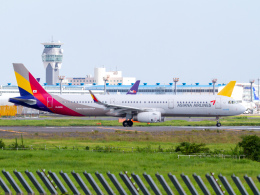 Mame @ TYOさんが、成田国際空港で撮影したアシアナ航空 A321-231の航空フォト(飛行機 写真・画像)