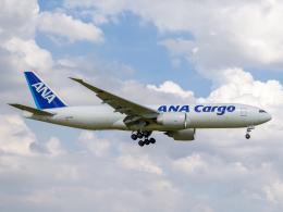 Mame @ TYOさんが、成田国際空港で撮影した全日空 777-F81の航空フォト(飛行機 写真・画像)