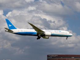 Mame @ TYOさんが、成田国際空港で撮影した厦門航空 787-9の航空フォト(飛行機 写真・画像)